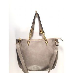 Heather Gray Tote/Shoulder Bag 🌫💖🌫